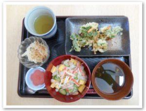 献立はちらし寿司や天ぷらを作りました!